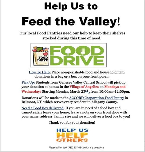 Feed the Valley Food Drive