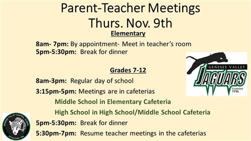 Parent-Teacher Meetings