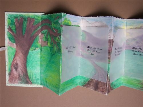 Megan's accordion book